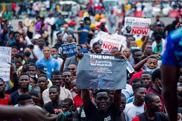 End SARS Protest, Lagos, Nigeria.