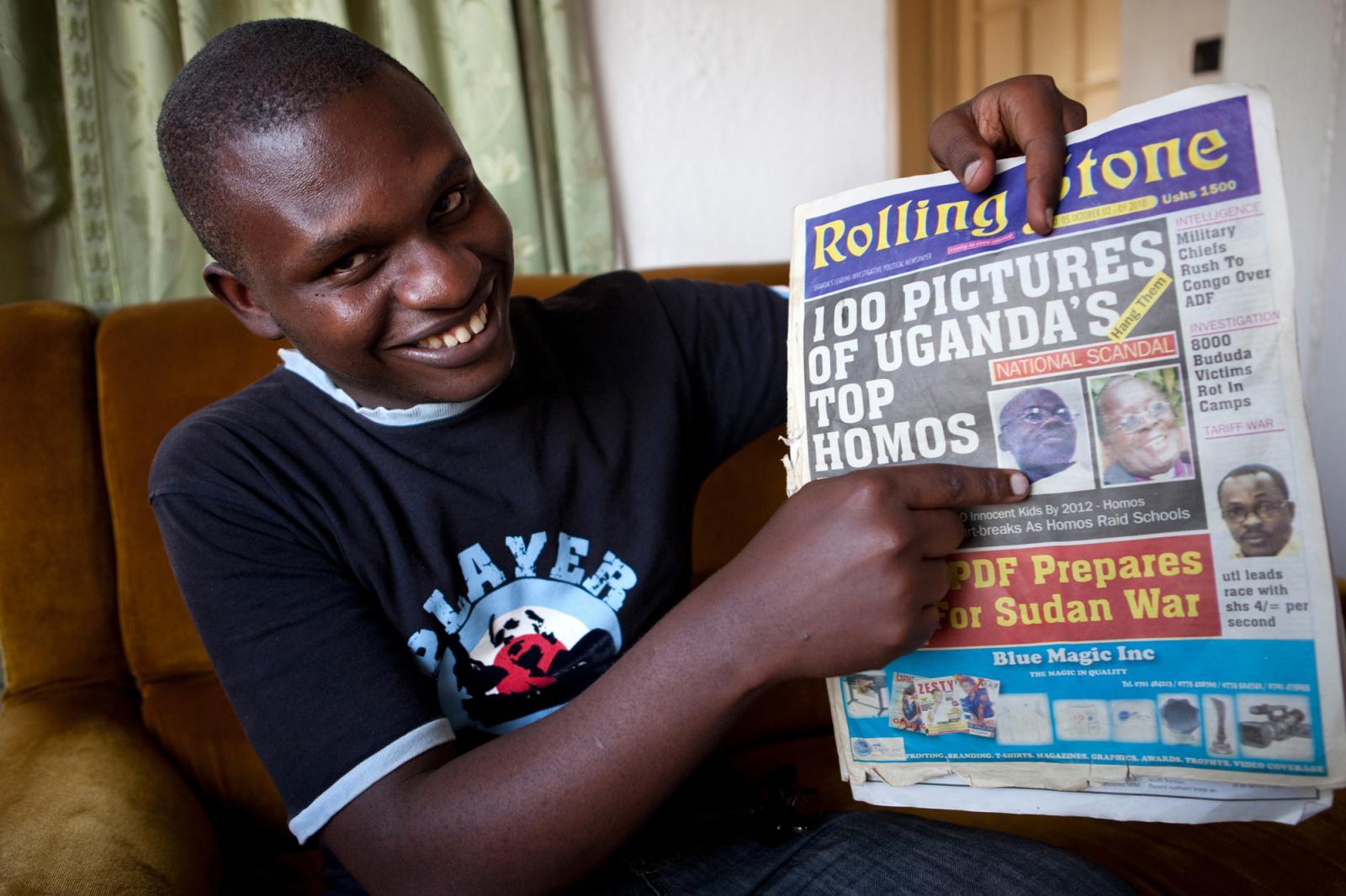 Photography image - Loading UgandaAntiGayBill02.jpg