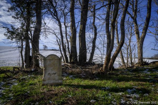 Abandoned Graveyard, Salzatal, Saxony-Anhalt, Germany.