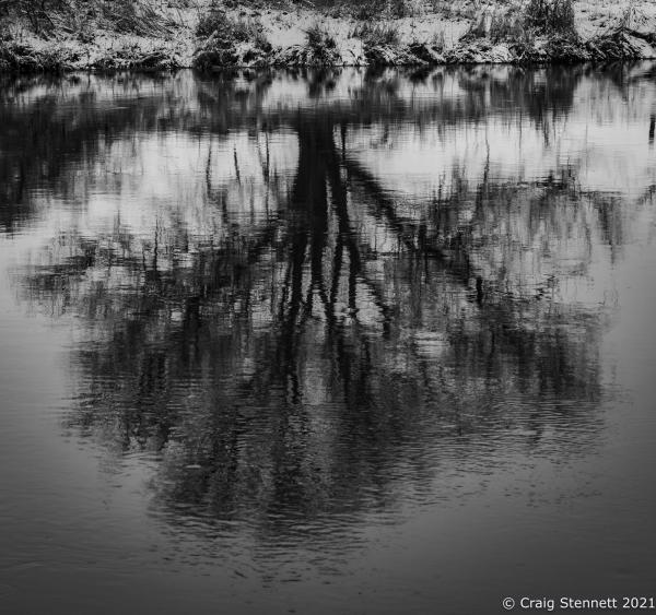 River Saale, Salzatal, Saxony-Anhalt, Germany.
