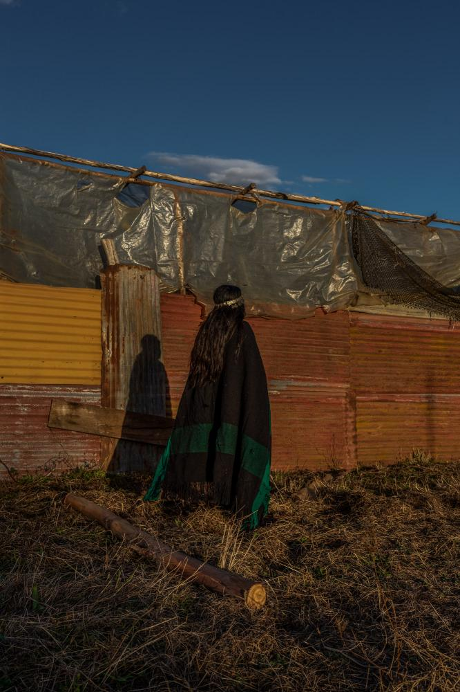 V.C.(12) Her father and brothers were falsely accused of murder and his house was violently raided by the police. Ercilla, Araucanía. Chile. April 14th, 2019.