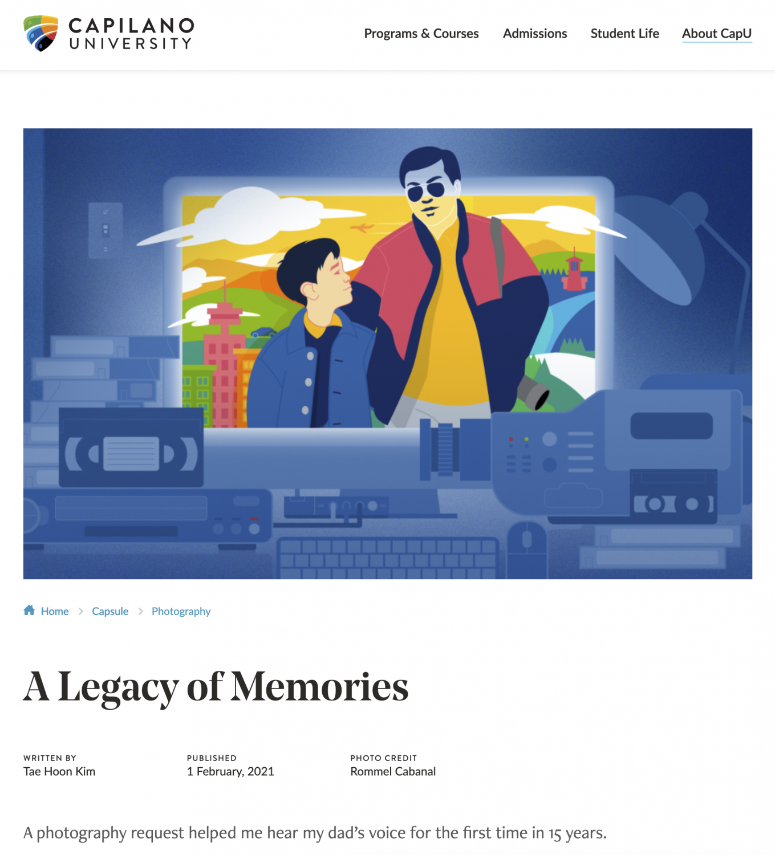 A Legacy of Memories (Capsule)
