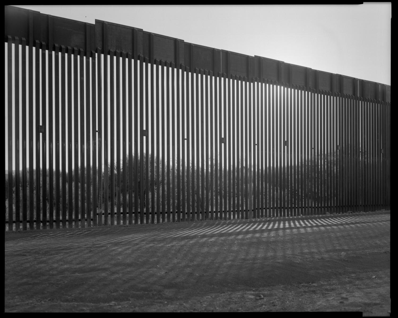 Border Wall. Organ Pipe National Monument, Arizona.