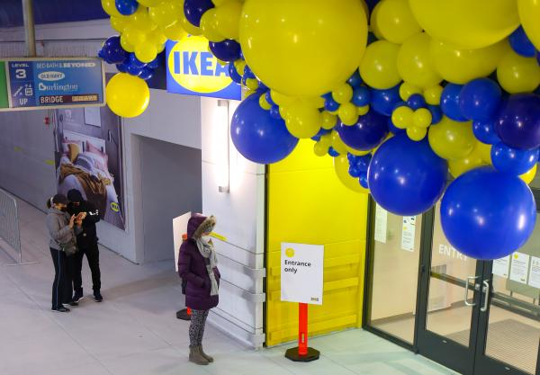 IKEA in the city