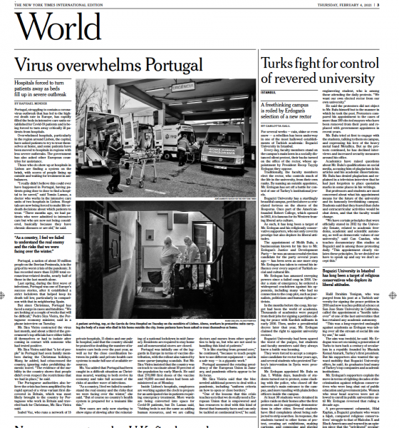 The New York Times  21/11/2016