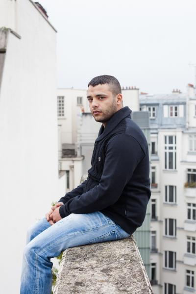 Osman Elkharraz, actor and writer for Le Parisien