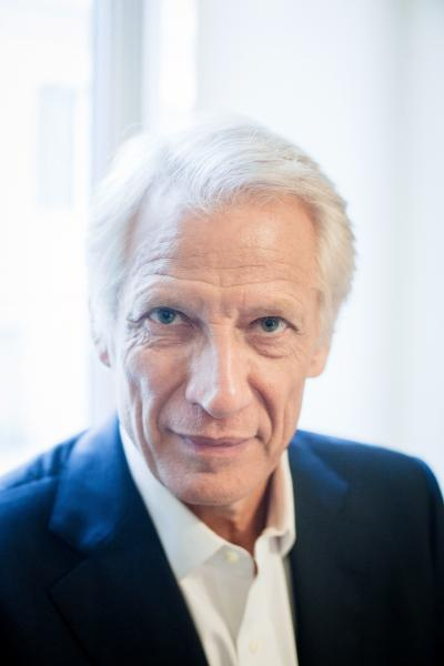 Dominique de Villepin, politician for Le Parisien
