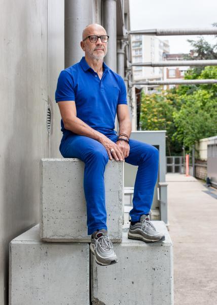 Jose-Manuel Gonçalves, director of the cultural centre  Centquatre.  for Théâtre(s)