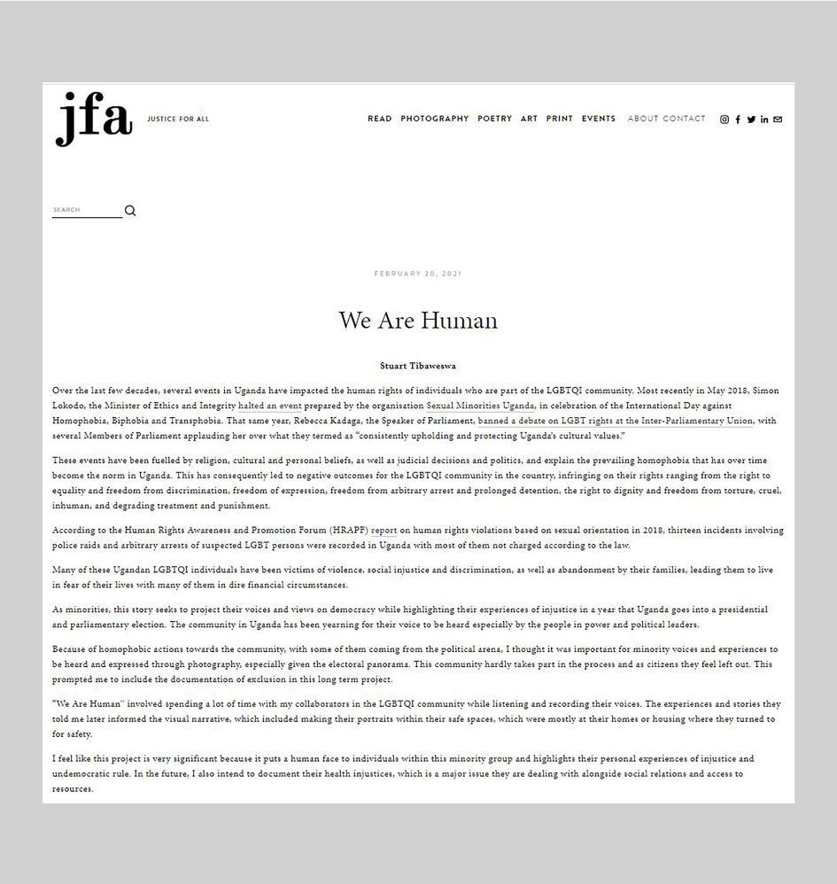 Art and Documentary Photography - Loading jfa.jpg