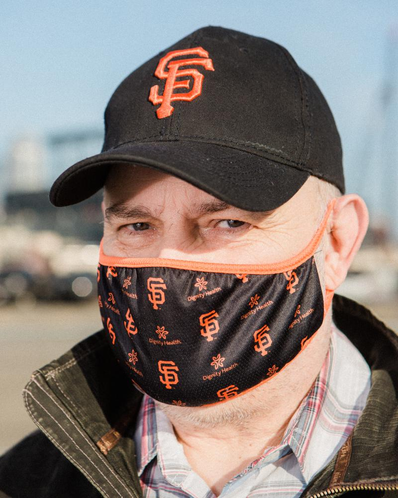 Jerry, who did not want to give his last name, quit his job at Home Depot after he disagreed with his management's approach to virus protocols at work. Although he is a Trump supporter, Jerry does not feel safe working and began getting food assistance shortly after quitting his job. Saturday, December 5, 2020