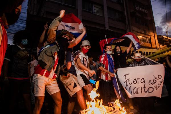 Paraguay Se Levanta: Mass protests in Paraguay amid a public health and political crisis