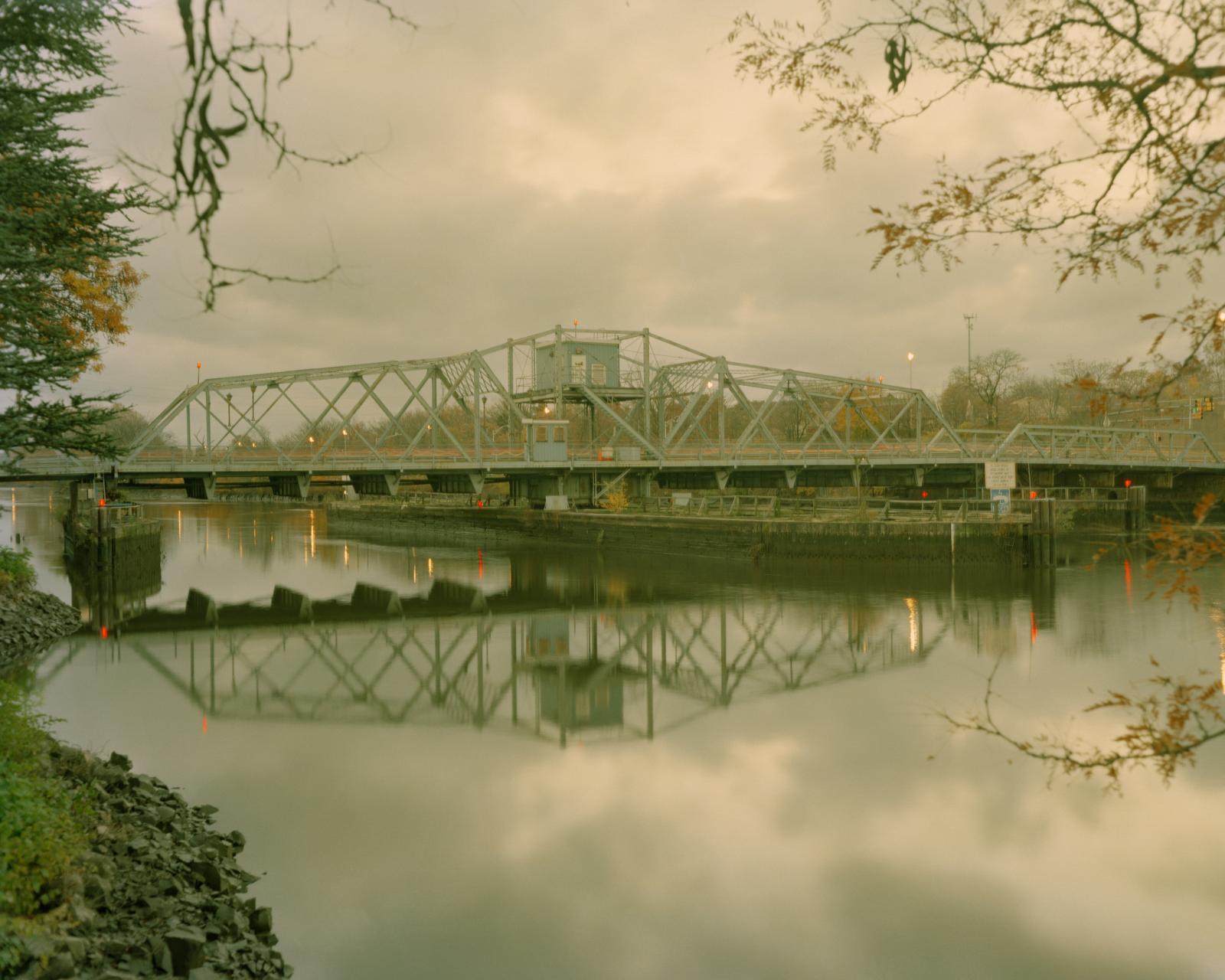 The Joseph Carmine de Jessa Memorial Bridge, Passaic River, Lyndhurst, New Jersey, 2016