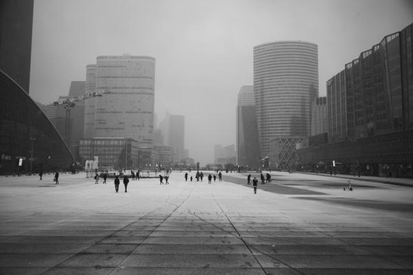 SNOW-Paris-La Défense