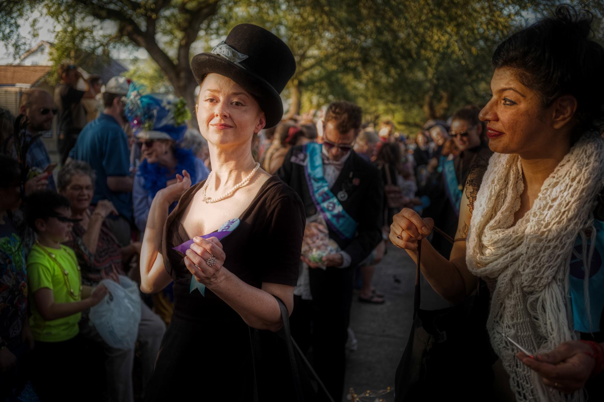 'tit Rex Mardi Gras Parade, Marigny New Orleans, LA - 2019