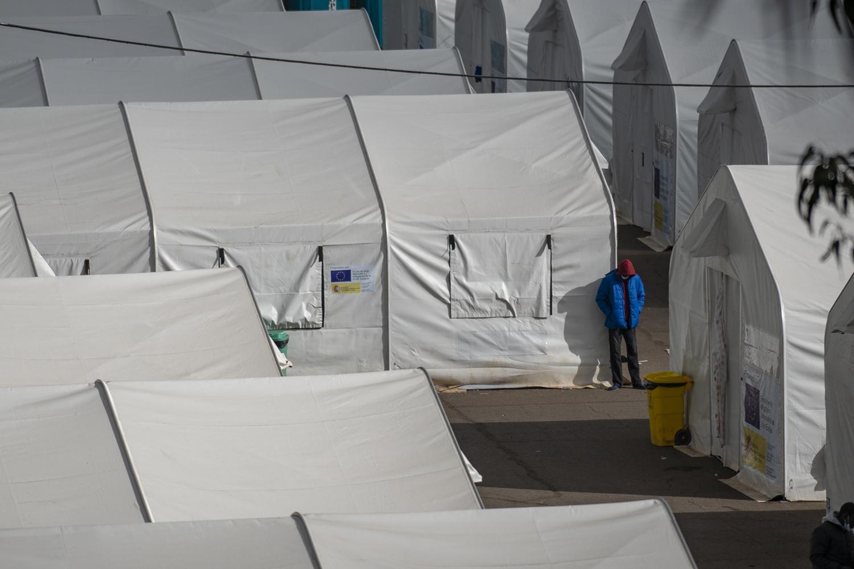 Las Raices camp in San Cristobal de la Laguna, in the Canary Island of Tenerife, Spain, Thursday, March 18, 2021.