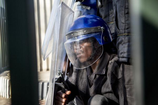 Fees must fall: Uj students clashed with private security when they march to various universities to garner support for free education. Several journalists were also attacked by security. PictureSimon LUYENGA