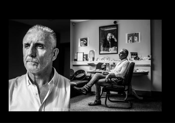 Ex I.R.A member turned author Frankie Quinn, shot on assignment for The Irish Times-Ireland, 2019