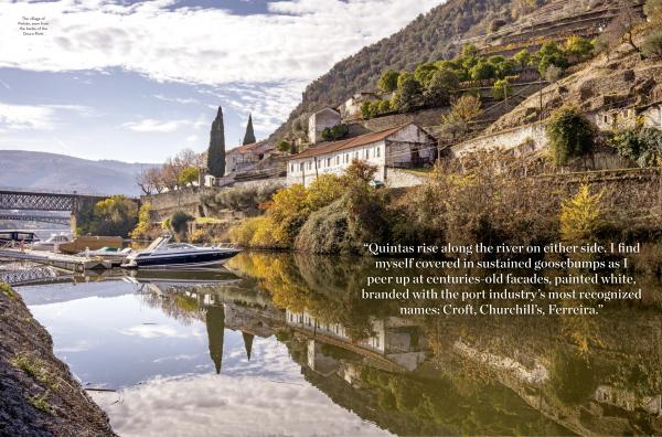The Douro River wine region of Portugal for Rhapsody, the inflight magazine for United Airlines First and Business Class