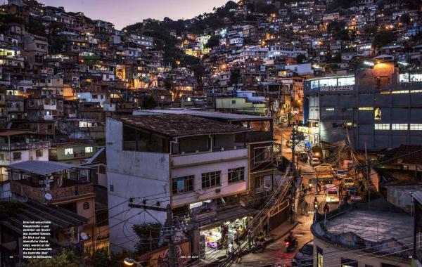 Vidigal, the most charming favela in Rio de Janeiro, for Geo magazine