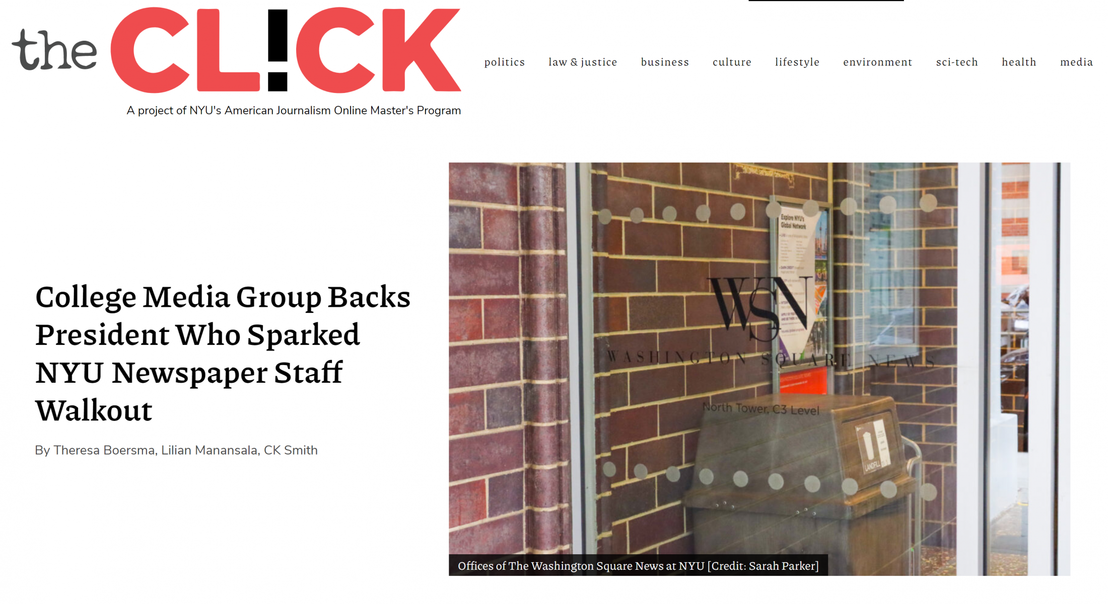 Art and Documentary Photography - Loading College_Media_Group_Backs_President_Who_Sparked_NYU_Newspaper_Staff_Walkout.PNG