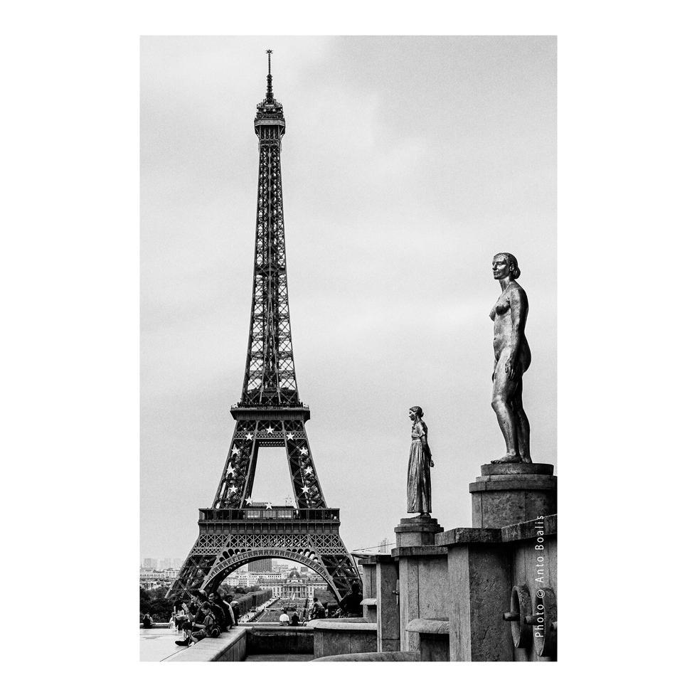 January - Eiffel Tower