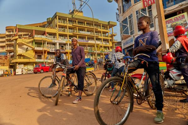 Kigali Bicycle Taxis
