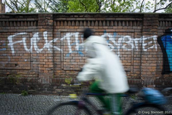 Outside Moabit Criminal Court, Berlin, Germany.