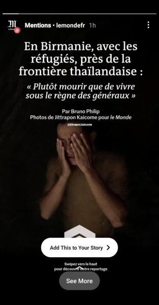 LE MONDE  IG Story