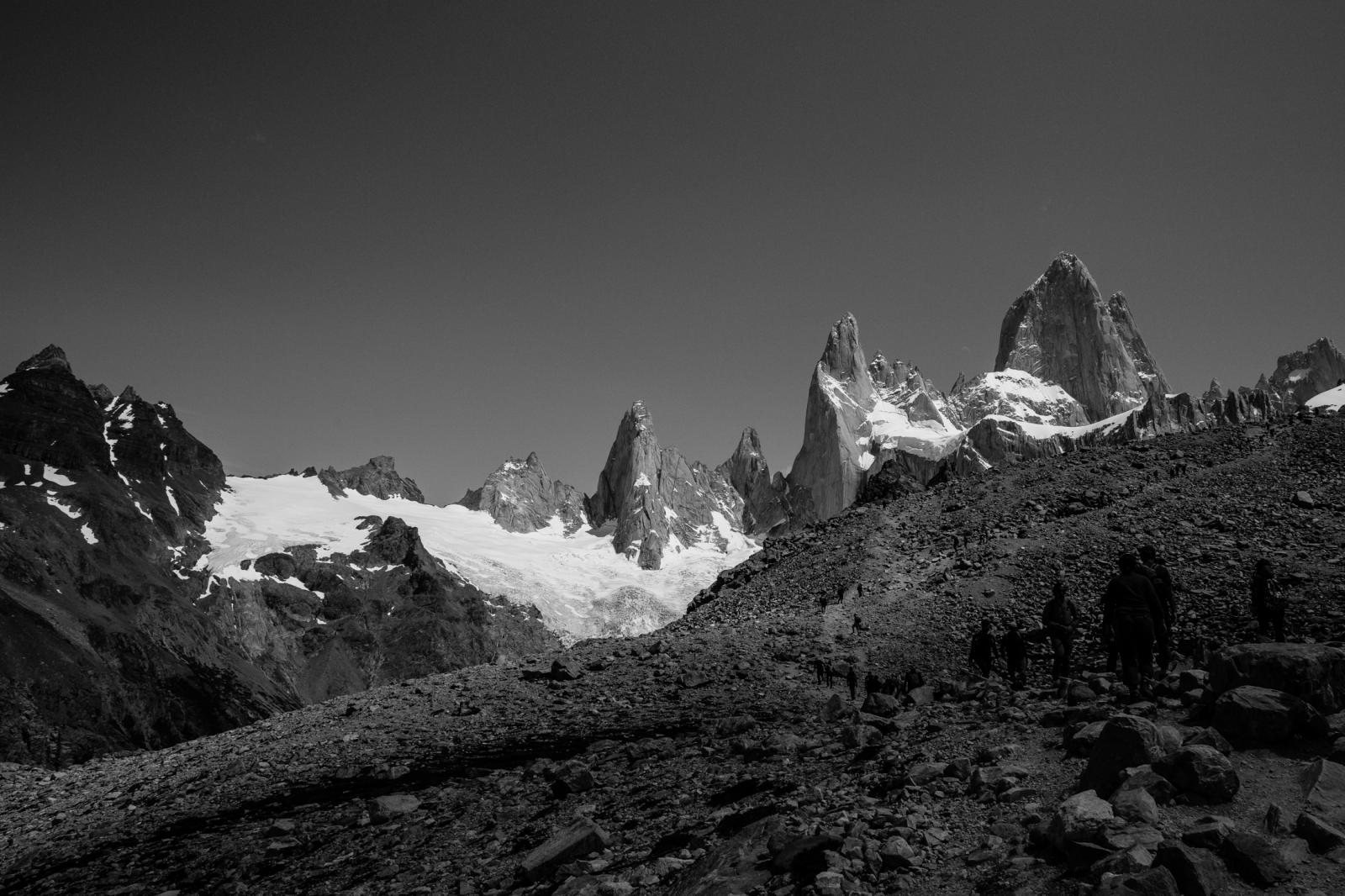 the ways to Fitz Patagonia is such a unique landscape, it is not by chance, this place is the home of Fitz Roy, also known as Cerro Chaltén on the border between Argentina and Chile. The 3.405m granite was first climbed in 1952 by French alpinists Lionel Terray and Guido Magnone. It is enough reason to go all the way down just to meet this imponent mountain, but the real truth is Patagonia scenery is mind-blowing, an exceptional sight of some beautiful wild aesthetics of our Earth's nature. This essay is about the surroundings of Fitz Roy, an admiration of its journey, and all the ways that lead you to it.