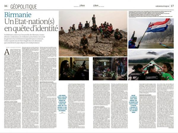 LE MONDE  Burma, a nation state (s) in search of identity.  Published May 16, 2021.