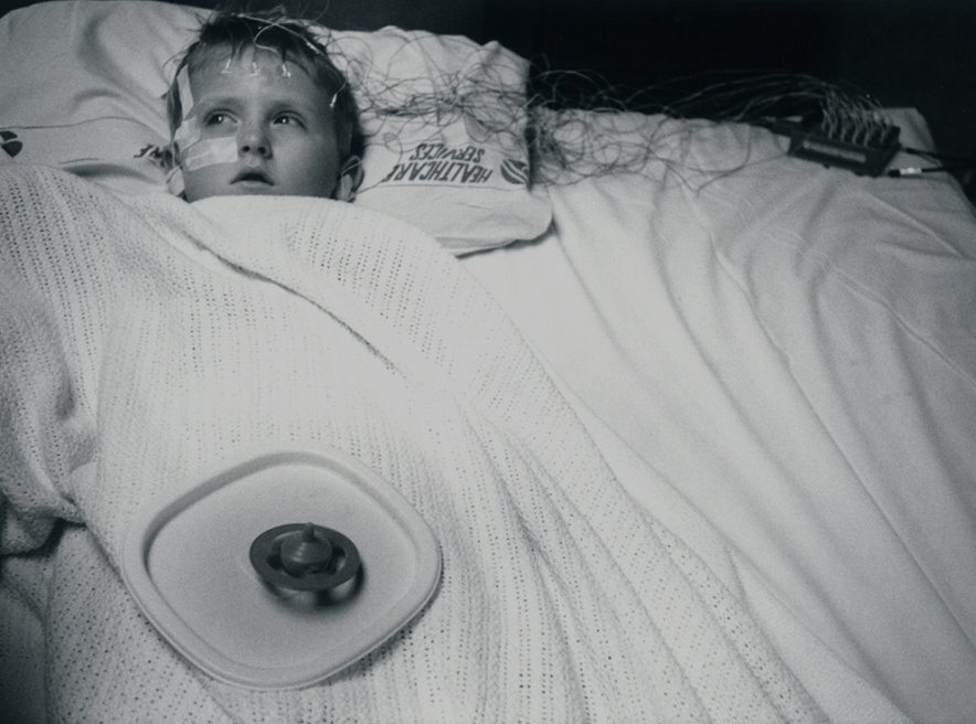Art and Documentary Photography - Loading 15_at age 6 EEG to detect seizure activity.1997.jpg