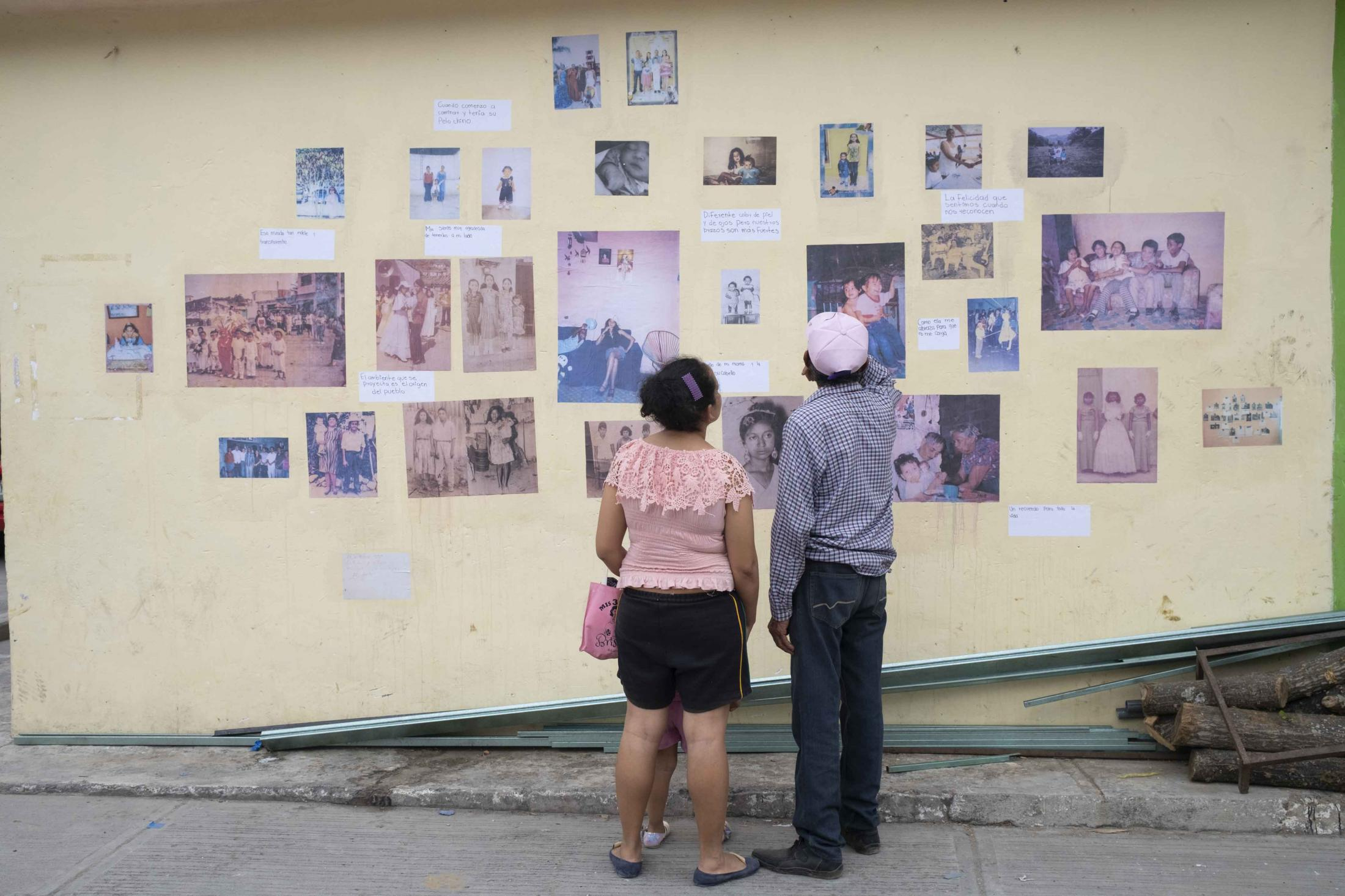 Album Exhibition, Coyolillo, Mexico. © Koral Carballo