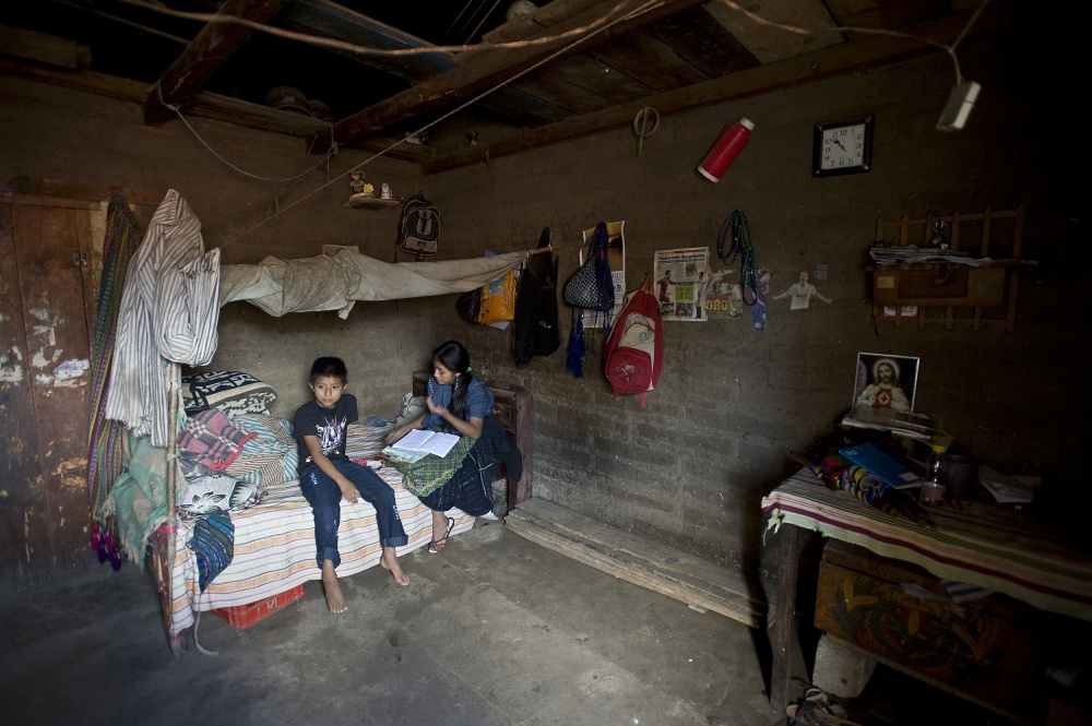 One Room House In Guatemala