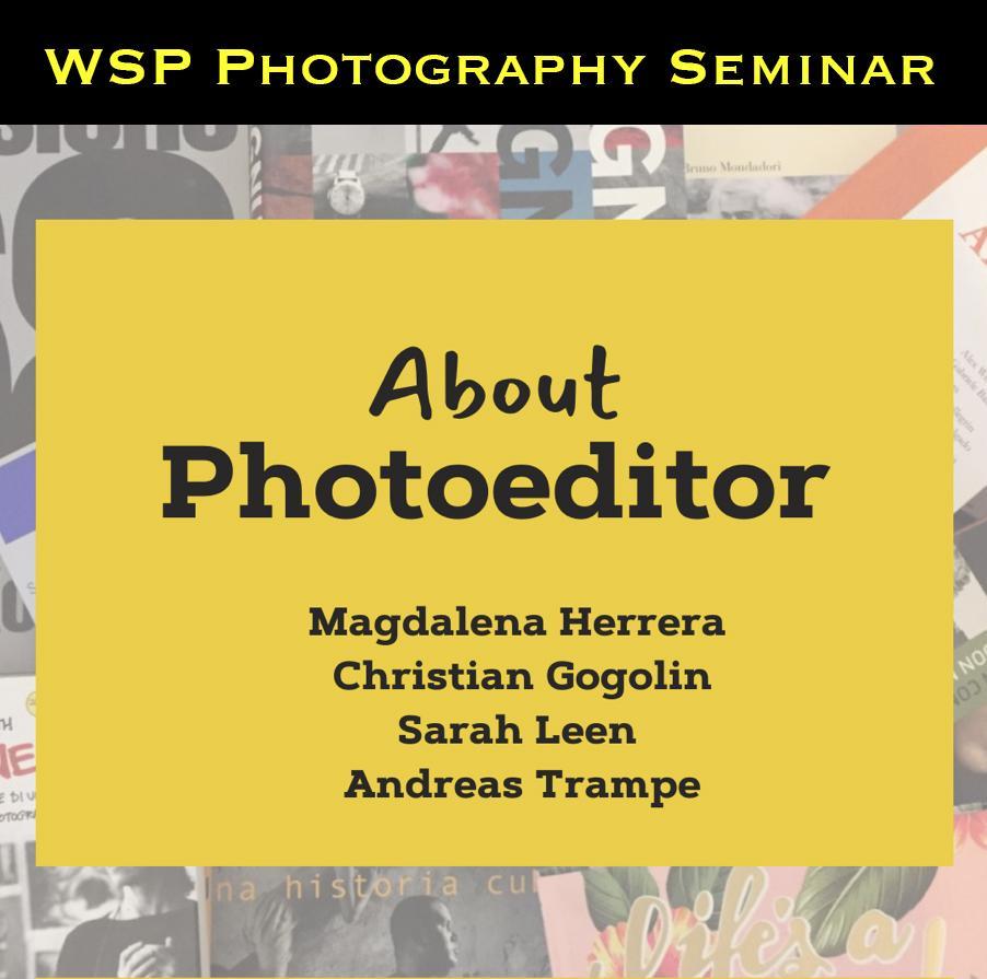 Art and Documentary Photography - Loading WSP_Photography_Seminar.jpg