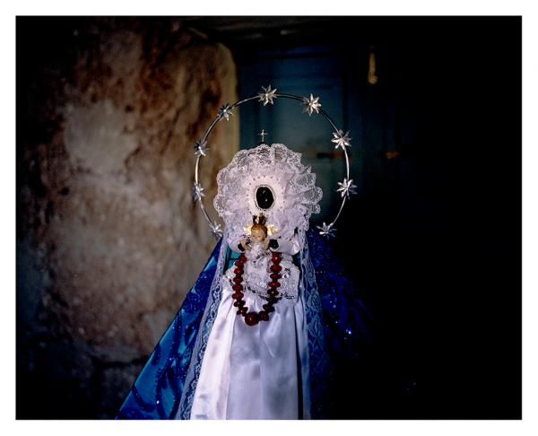 'Transculturation' is a concept developed by Cuban anthropologist Fernando Ortiz to describe the process of cultures merging together. In Cuba, African religions, catholicism, and spiritism have syncretised and formed new religious systems. That is how the Black Virgin of Regla can be the centerpiece of a yearly procession for Yemaya ( the Cuban name of Yemoja). Havana, Cuba © Laeïla Adjovi.