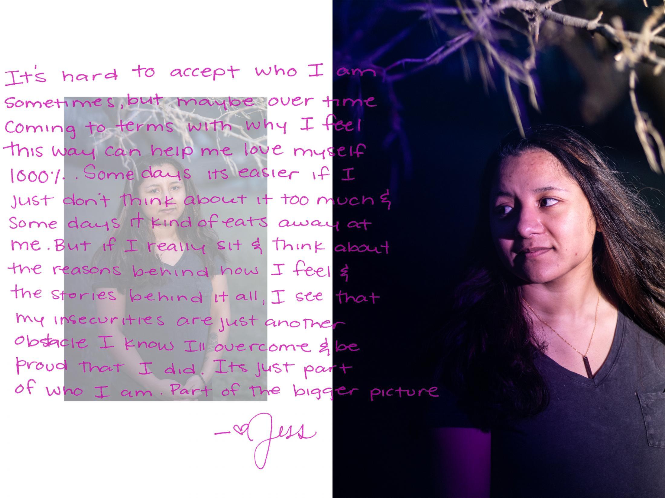 Jessika Braden, to hear her story visit: https://soundcloud.com/emily-kenny-392909720/jessika-braden