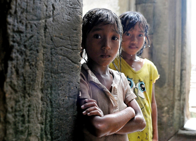 Child poverty in Cambodia