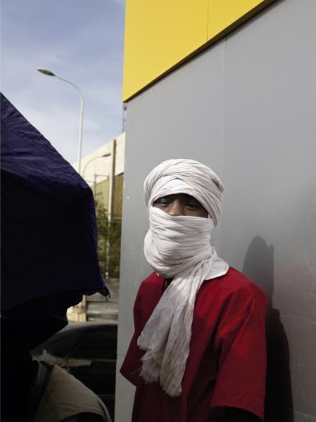 In the streets of Nouakchott-mauritania