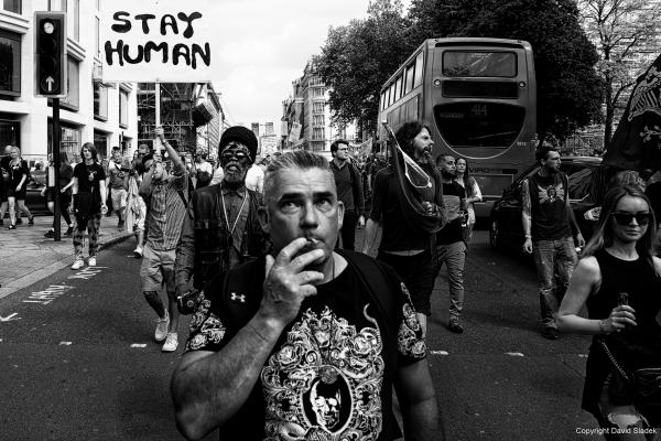 From anti-lockdown and anti-vaccine protest, London, 29/05/2021