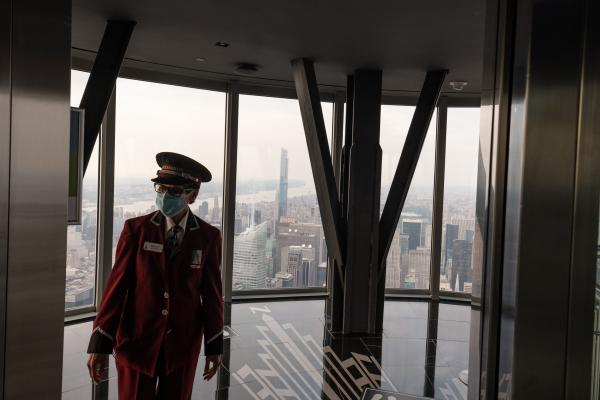 102nd floor of the Empire State Building