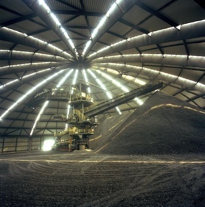 Prosper-Haniel coal mine in Bottrop