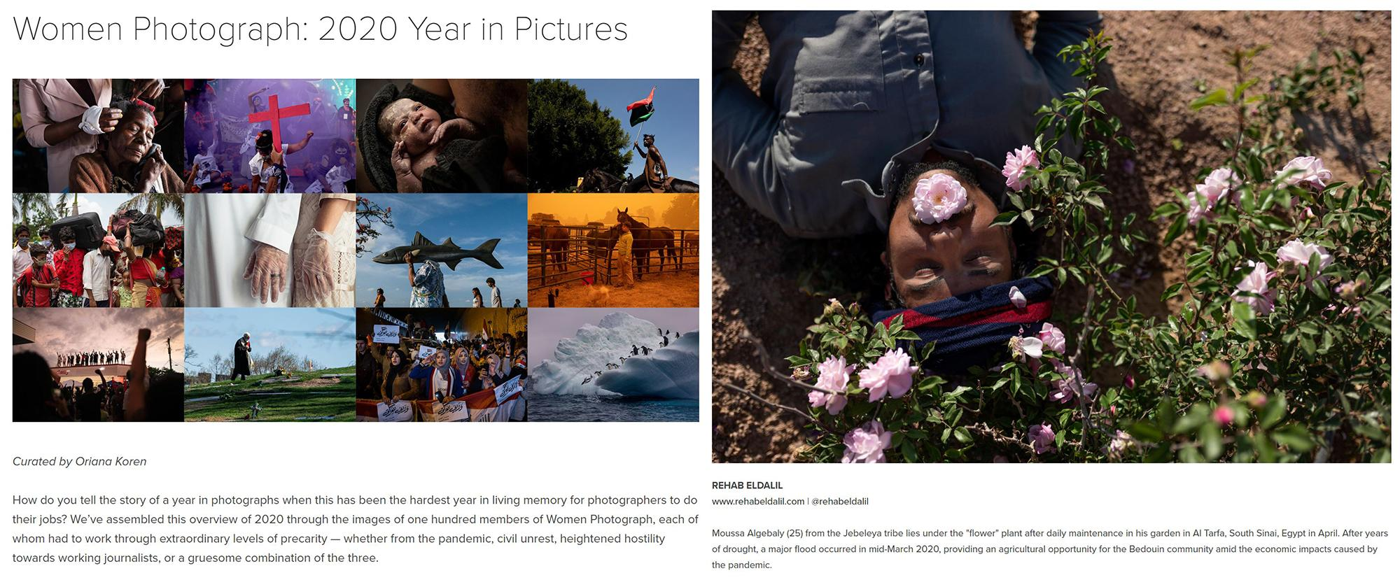 Women Photograph, Image digital and print publication, 2020 https://www.womenphotograph.com/news/2020-year-in-pictures