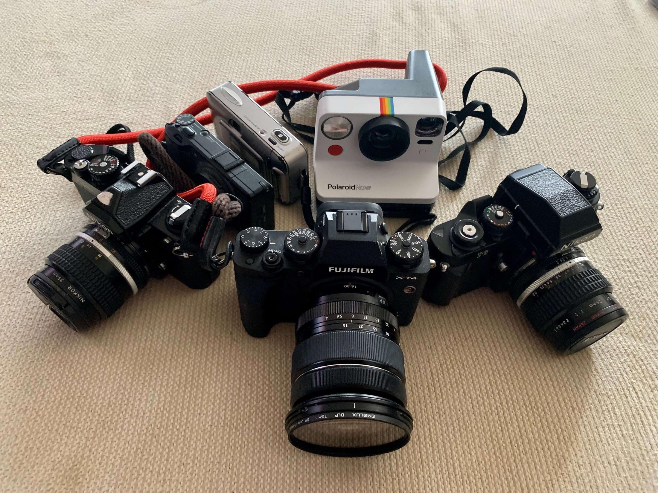 Art and Documentary Photography - Loading mycameras.jpg