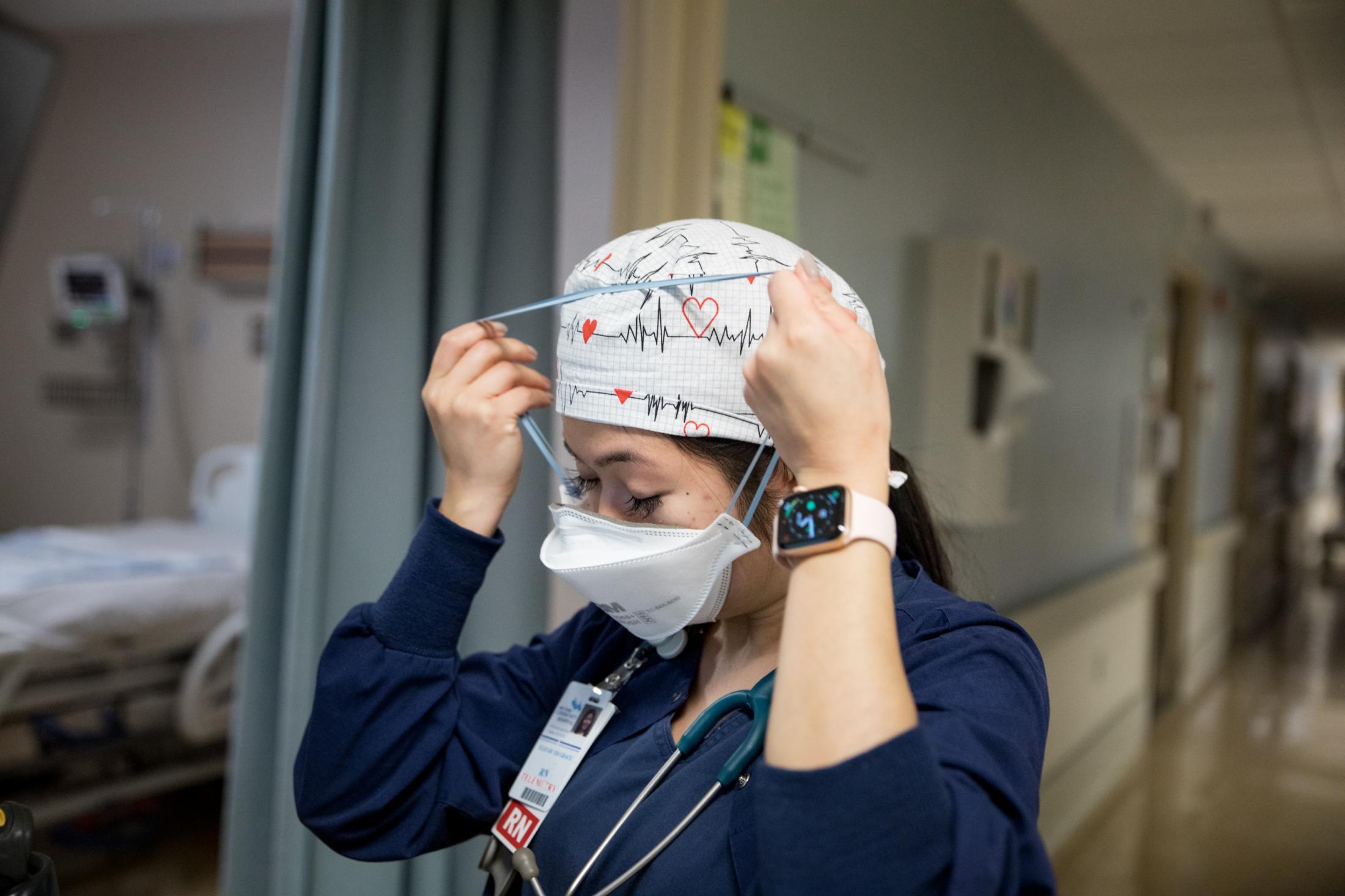 Elizabeth Grace Capadngan is a night shift telemetry nurse at Doctors Community Hospital.