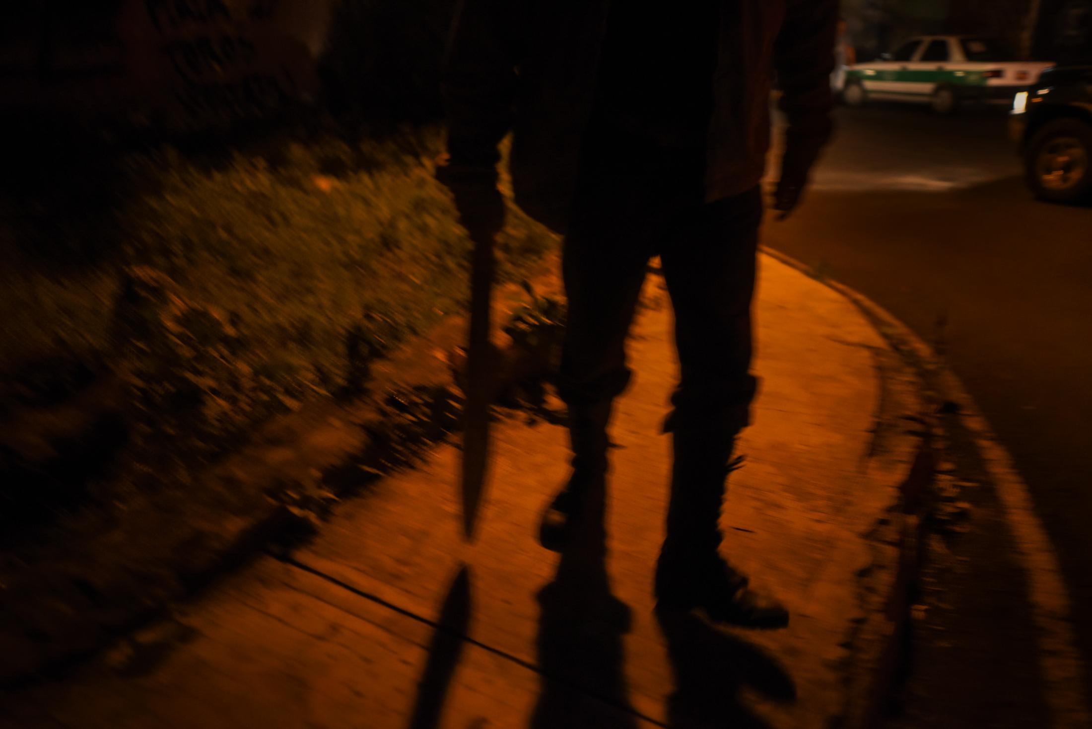 November 08, 2017. Jilotepec, Veracruz, México. Habitants of the town decided to arm themselves with sticks and machetes to guard their homes, this due to the increase in violence near the town.