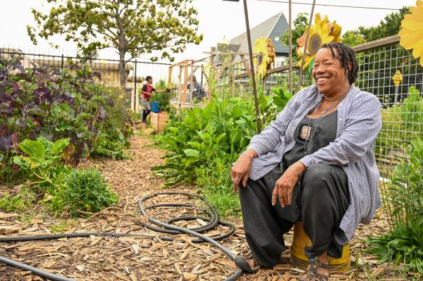 Wanda Stewart is a Trusted Leader in East Bay's Food Justice Movement.