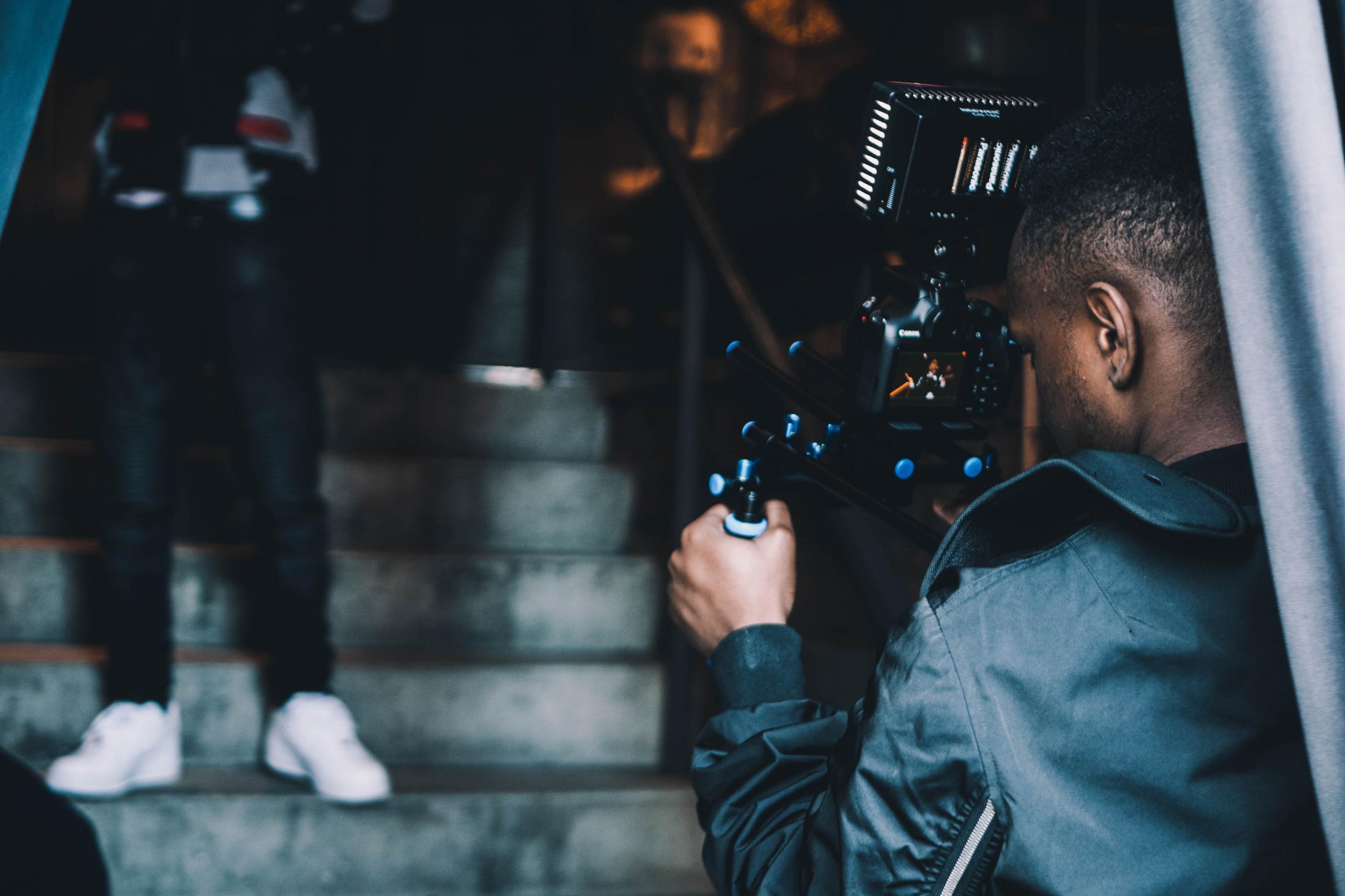 Art and Documentary Photography - Loading steven-van-filmming_african_american.jpeg