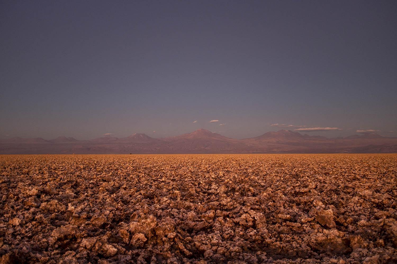 Salt flat in the Sociedad Química Minera Plant. Atacama Desert, Chile. 2016