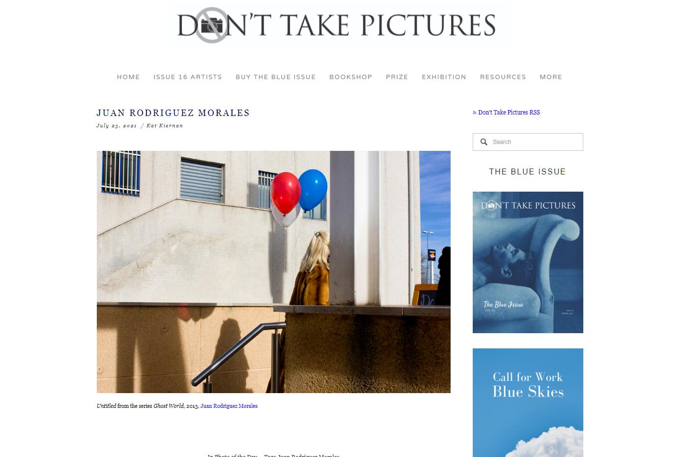 Photography image - Loading DontTakePictures.jpg