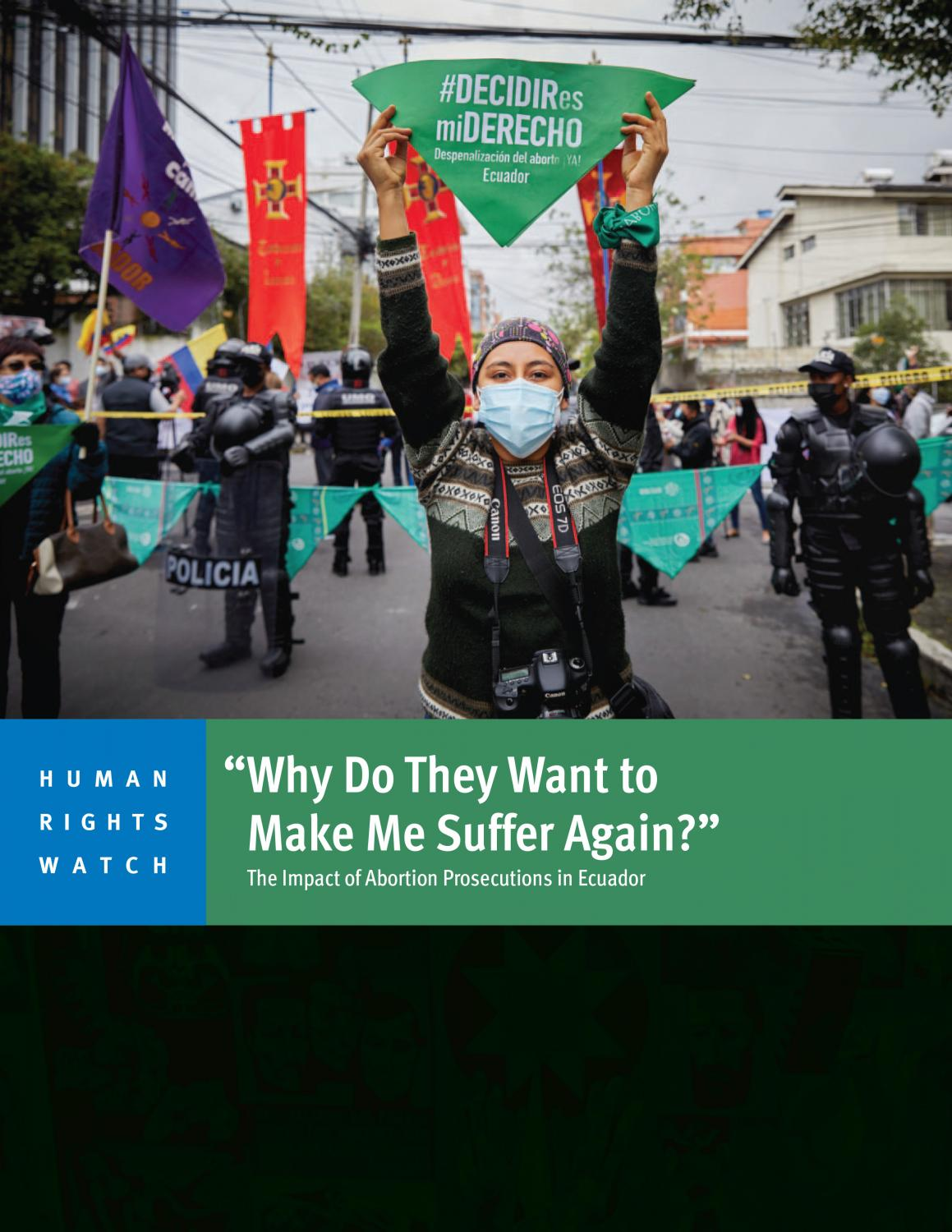 HUMAN RIGHTS WATCH - 2021 - Frontpage publication - web